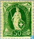 Postzegels - Zwitserland [CHE] - Staande Helvetia