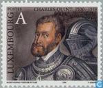Postzegels - Luxemburg - Keizer Karel V 1500-1588