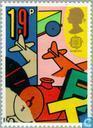 Postzegels - Groot-Brittannië [GBR] - Europa – Kinderspelen