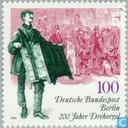 Postage Stamps - Berlin - 1790 Barrel Organ