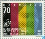 Postage Stamps - Switzerland [CHE] - Human Rights 50 years