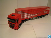 Voitures miniatures - Lion Toys - DAF XF Coca-Cola