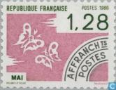 Postage Stamps - France [FRA] - May