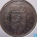 Netherlands 2½ gulden 1970