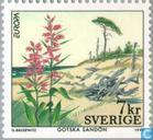 Postage Stamps - Sweden [SWE] - Europe – Nature reserves and parks
