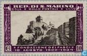 Postage Stamps - San Marino - Fascist party