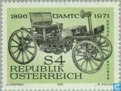 Postzegels - Oostenrijk [AUT] - Oostenrijkse automobielclub 75 jaar
