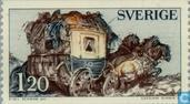Postage Stamps - Sweden [SWE] - Stagecoach