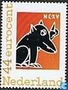Postzegels - Nederland [NLD] - NCRV - Man bijt hond