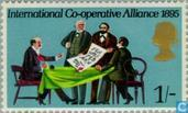 Postage Stamps - Great Britain [GBR] - International Co-operative Alliance 1895