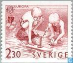 Postage Stamps - Sweden [SWE] - Europe – Children's games
