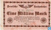 Berlin 1 Miljoen Mark 1923
