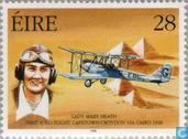 Timbres-poste - Irlande - Pionniers de l'aviation