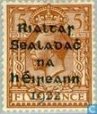 Timbres-poste - Irlande - Surcharge