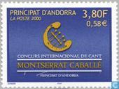 Postage Stamps - Andorra - French - Int. Singing contest