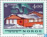 Postage Stamps - Norway - Europe – Post offices