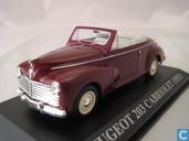 Voitures miniatures - Altaya - Peugeot 203 Cabriolet