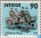 Postage Stamps - Sweden [SWE] - Swedish automotive construction