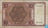 Billets de banque - Zeeuws meisje - Pays-Bas 10 Gulden 1924