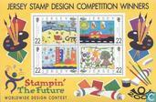 Postage Stamps - Jersey - International drawing competition