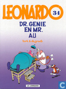 Comic Books - Leonardo - Dr. Genie en mr. Au