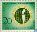 Postage Stamps - Berlin - World Congress Front Warriors