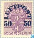 Postzegels - Zweden [SWE] - 50#4 violet