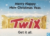 "S000023 - Twix ""Merry Happy New Christmas Year."""
