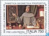 Postzegels - Italië [ITA] - Luca Pacioli