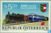 Postage Stamps - Austria [AUT] - 100 years Gail railways