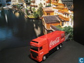 Voitures miniatures - Camion - DAF XF 'Coca Cola'