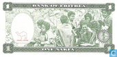 Banknoten  - Eritrea - 1997 Issue - Eritrea 1 Nakfa 1997