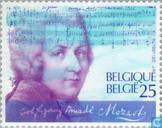 Timbres-poste - Belgique [BEL] - Wolfgang Amadeus Mozart