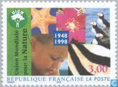 Postzegels - Frankrijk [FRA] - Wereld Natuurbeschermings Unie