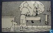 Tapijt : Tintin - Salle de bain