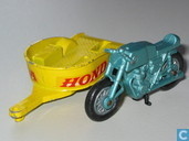 Honda Motorcycle and Trailer