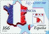 Postage Stamps - Spain [ESP] - Introducing Euro
