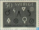 Postage Stamps - Sweden [SWE] - Engineering and industry