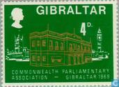 Postzegels - Gibraltar - British Commonwealth- Conferentie