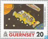 Postzegels - Guernsey - Millennium