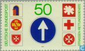 Postage Stamps - Germany, Federal Republic [DEU] - Rescue