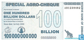 Zimbabwe 100 Miljard (Billion) Dollars