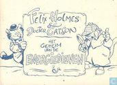 Comics - Felix Holmes & Docter Catson - Het geheim van de energiedieven
