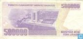 Billets de banque - Türkiye Cumhuriyet Merkez Bankasi - Turquie 500.000 Lirasi