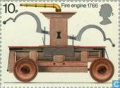 Postage Stamps - Great Britain [GBR] - fire department