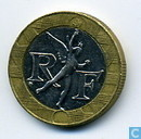 Monnaies - France - France 10 francs 1991