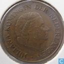 Monnaies - Pays-Bas - Pays-Bas 5 cent 1969 (coq)