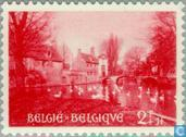 Postage Stamps - Belgium [BEL] - Béguinage of Bruges