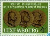 Timbres-poste - Luxembourg - Déclaration de Robert Schuman