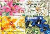 Postzegels - Zwitserland [CHE] - Bloemen